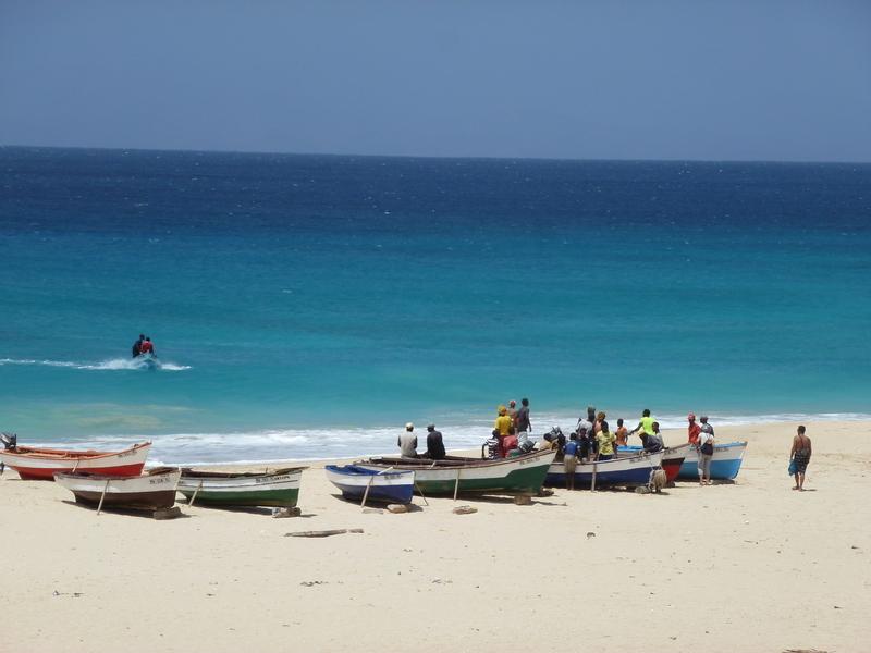 Reise in Kap Verde, Strandtage auf Maio