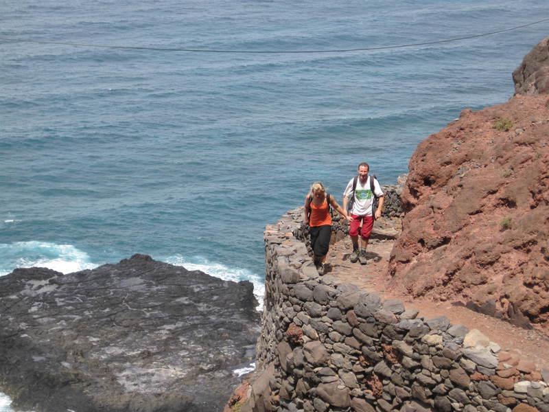 Reise in Kap Verde, Küstenwanderung Ponta do Sol
