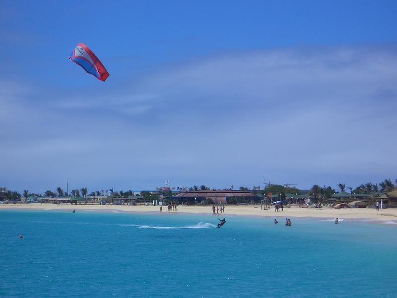 Reise in Kap Verde, Badeinsel Sal