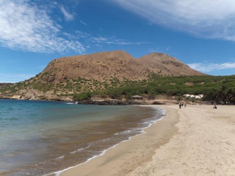 Reise in Kap Verde, Strand Baia Verde