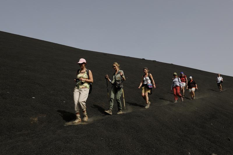 Reise in Kap Verde, Wanderung auf Fogo