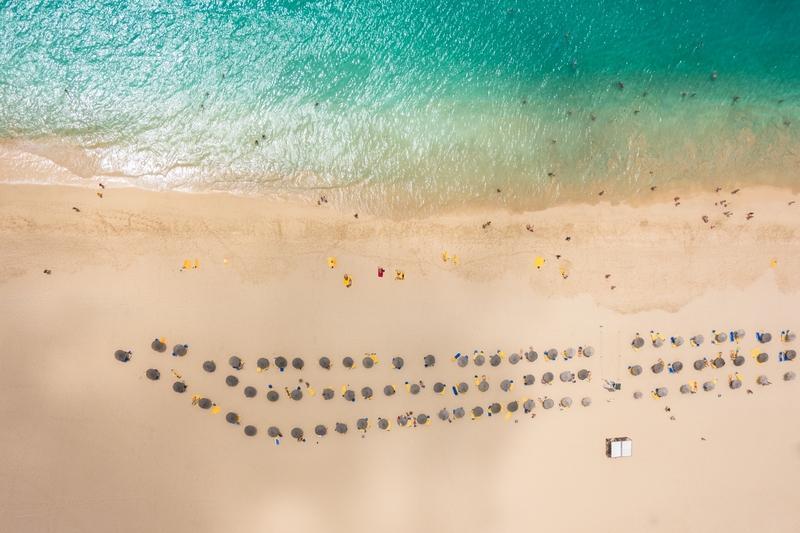 Reise in Kap Verde, Entspannung am Meer auf der Badeinsel Sal