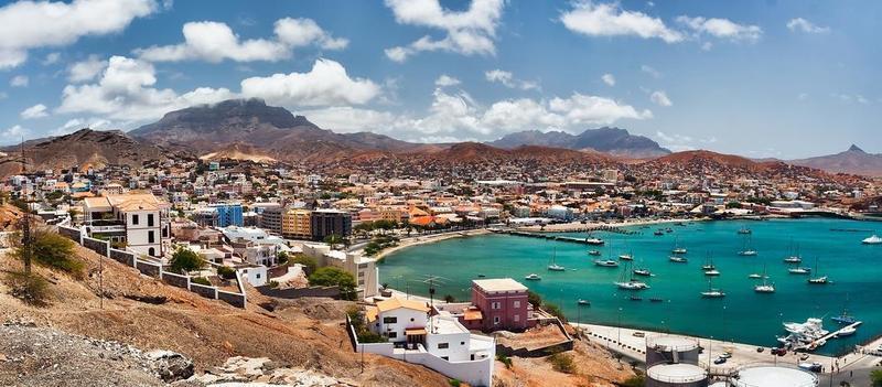 Reise in Kap Verde, Sao Vicente Mindelo Hafen