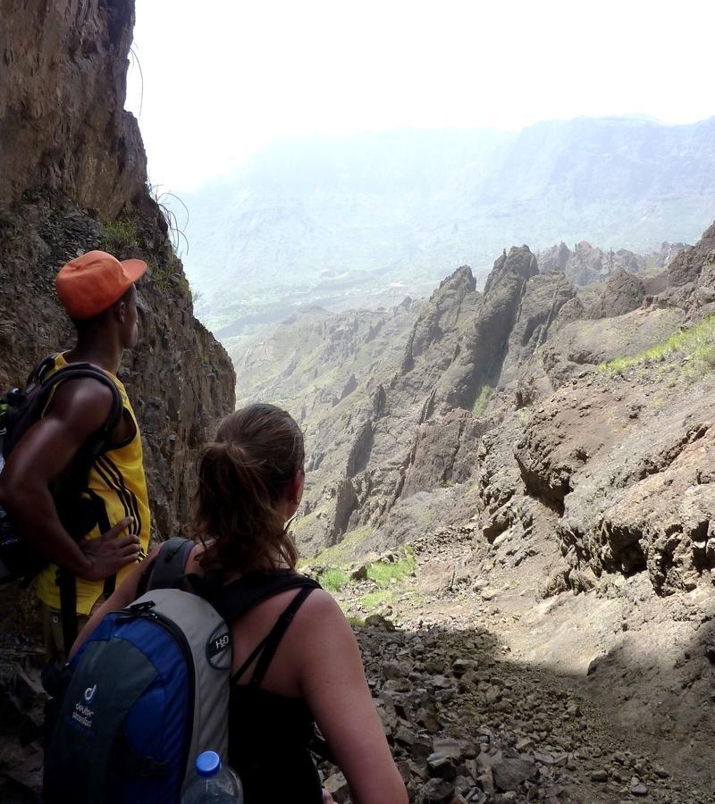 Reise in Kap Verde, Wanderung - Alto Mira