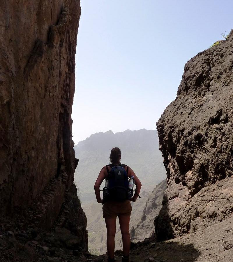 Reise in Kap Verde, Wanderung von Norte nach Alto Mira