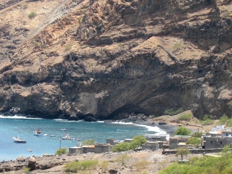 Reise in Kap Verde, Monte Trigo, Santo Antão