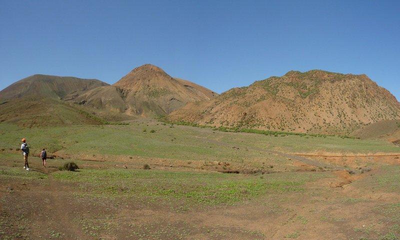 Reise in Kap Verde, Plateau von Norte