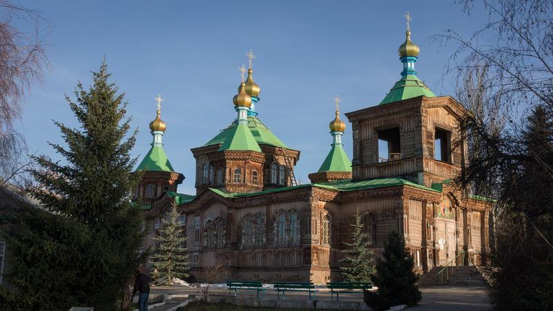 Reise in Kirgistan, Holy Trinity Cathedral in Karakol