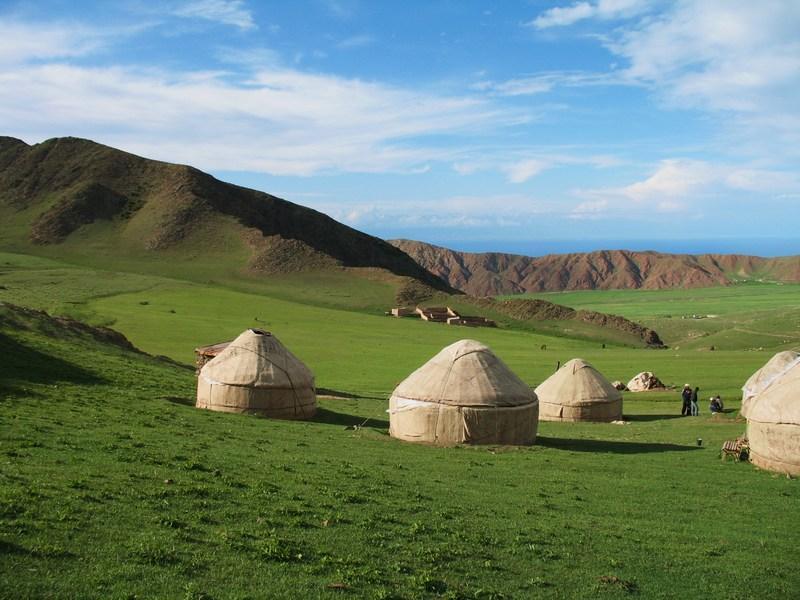 Reise in Kirgistan, Jurtencamp Temir Kanat