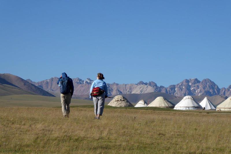 Reise in Kirgistan, Kirgisistan: Steppen und Nomaden
