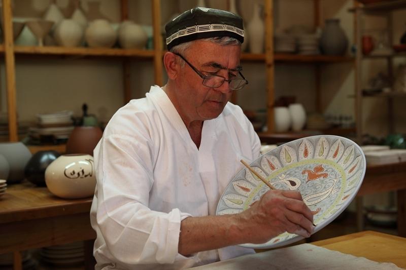 Reise in Usbekistan, Berühmte Familie von Keramikern