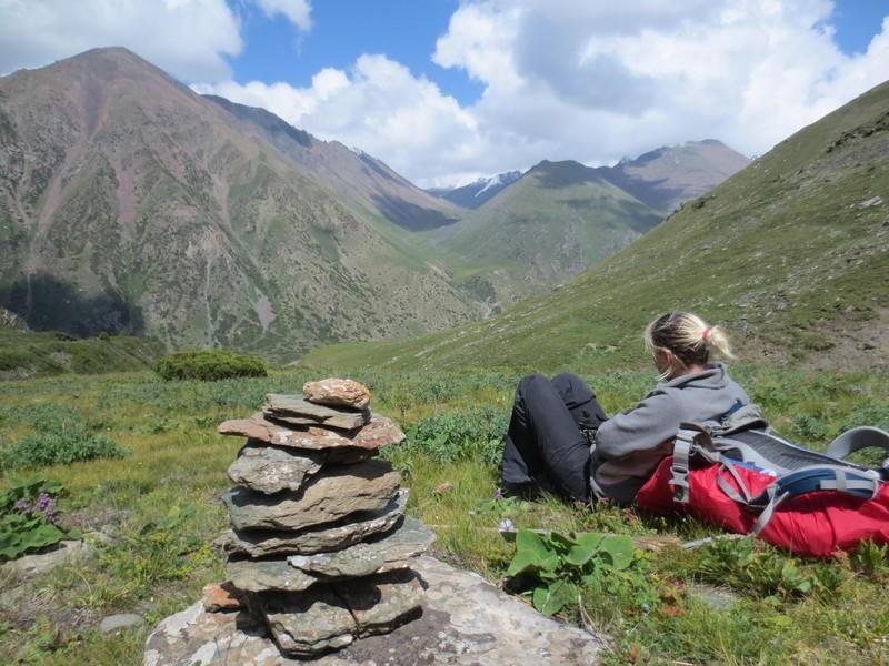 Reise in Usbekistan, Wanderung in der Natur Kirgistans