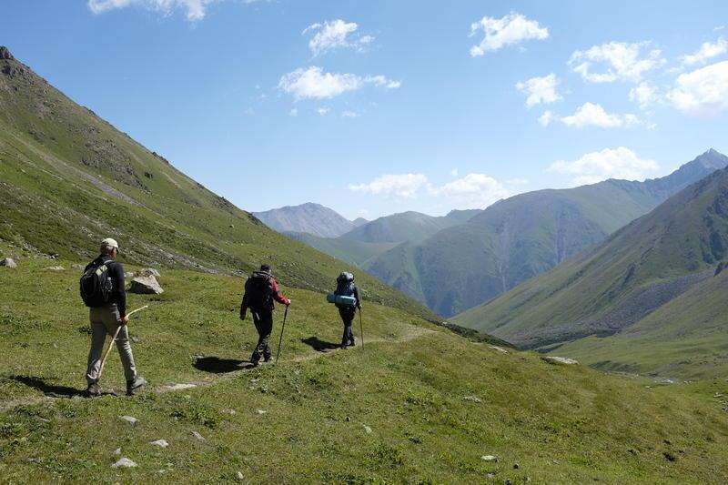 Reise in Usbekistan, Wanderung zum Son Kul-See in Kirgistan