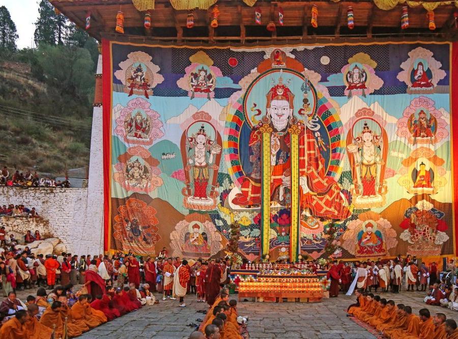 Reise in Bhutan, Buddhistisches Zentrum Boudhanath