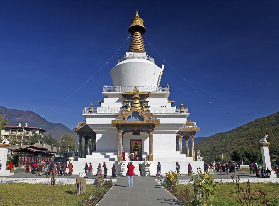 Reise in Bhutan, Fröhliches Lächeln in Bhutan