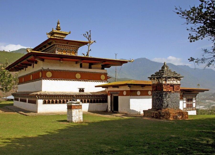Reise in Bhutan, Mutter und Kind in Thimphu