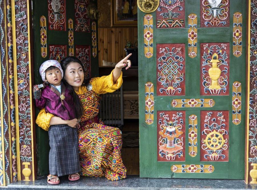 Reise in Bhutan, Memorial Chörten in Thimphu