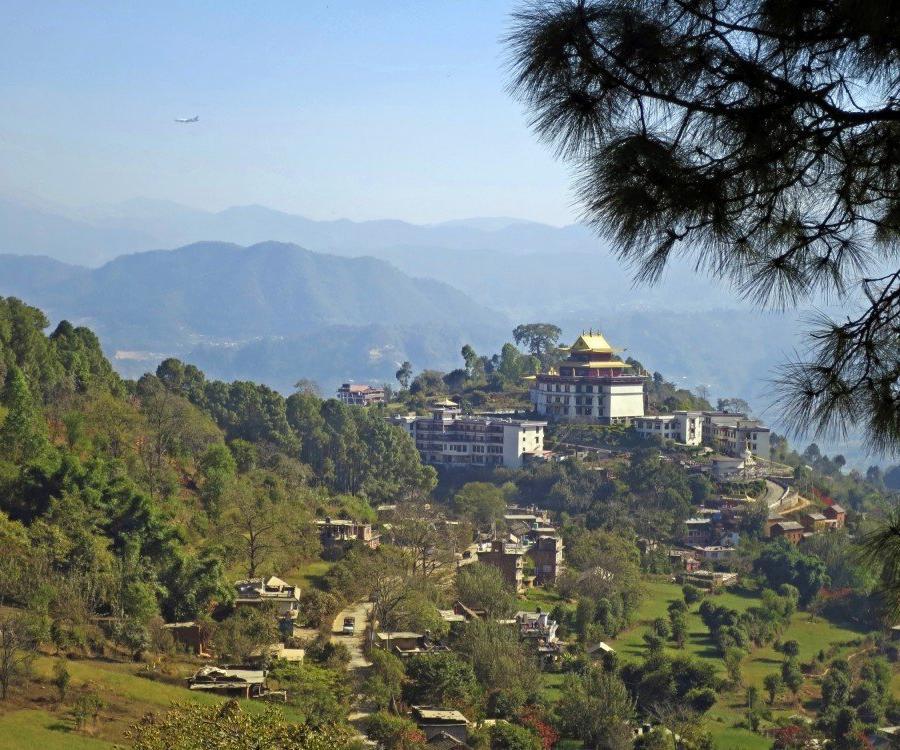 Reise in Bhutan, Dochu-La-Pass (3150m)