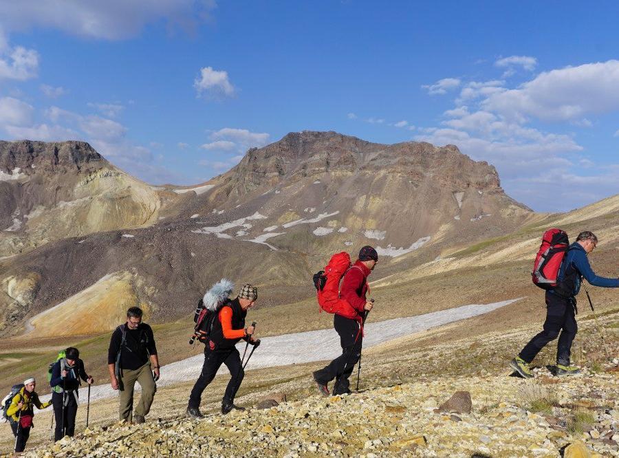 Reise in Armenien, Gipfel erreicht – Aragats-Nord