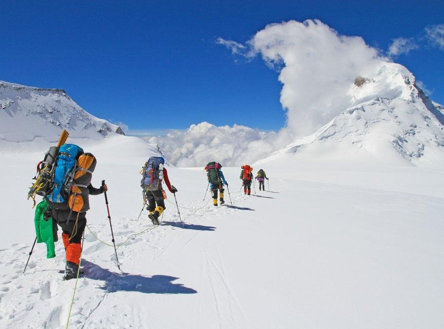 Reise in Indien, Am Gipfel des Kun