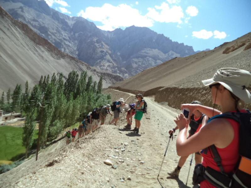 Reise in Indien, Trekking Tour durch die Bergdörfer Ladakhas