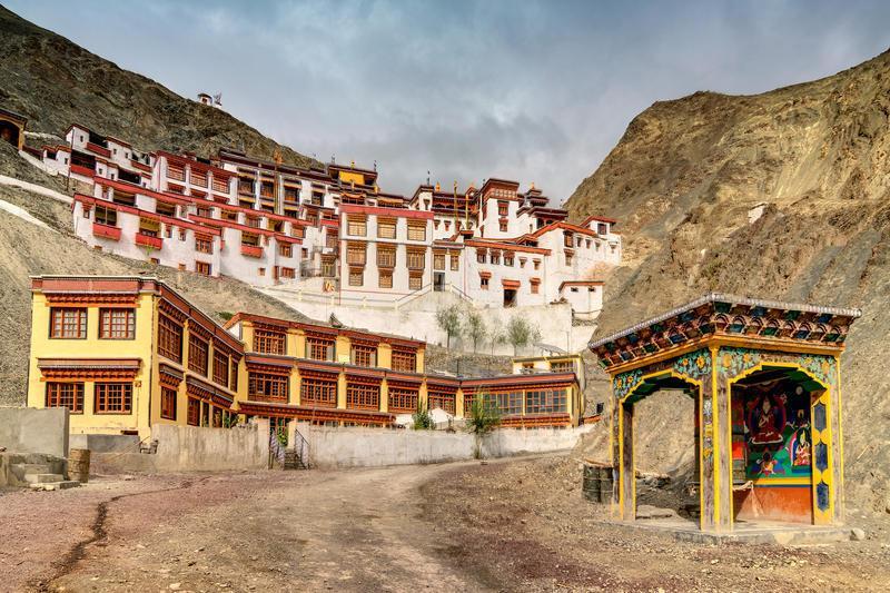 Reise in Indien, Meditationskloster Rizong