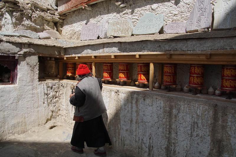 Reise in Indien, Besuch des Nonnenklosters in Ladakh in Indien
