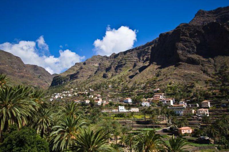 Reise in Spanien, La Gomera - Trekking durch den grünen Inselnorden