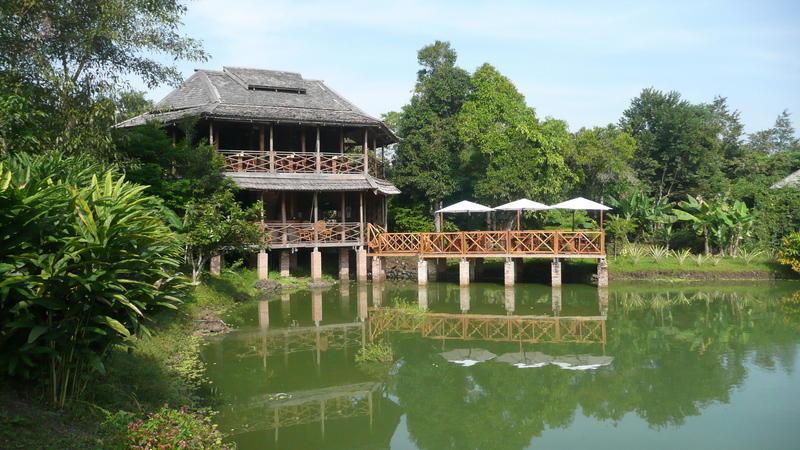 Reise in Laos, Kingfisher Ecolodge in Südlaos