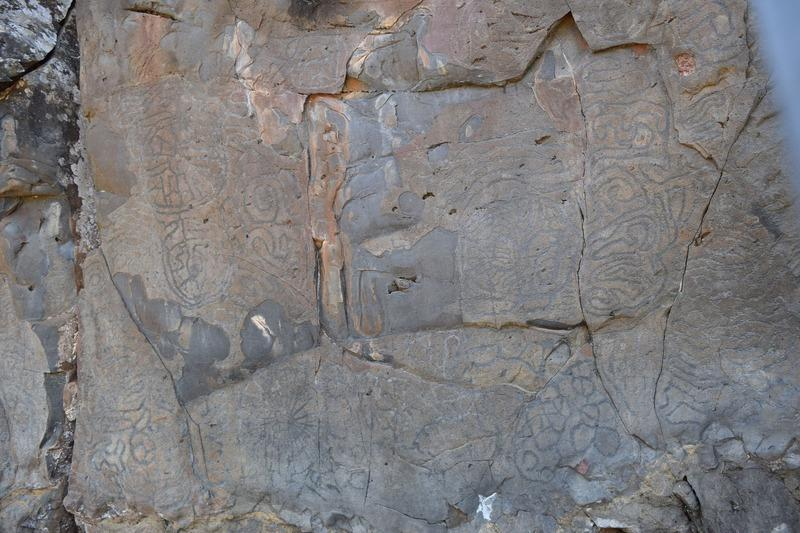 Reise in Spanien, Felszeichnungen der Ureinwohner