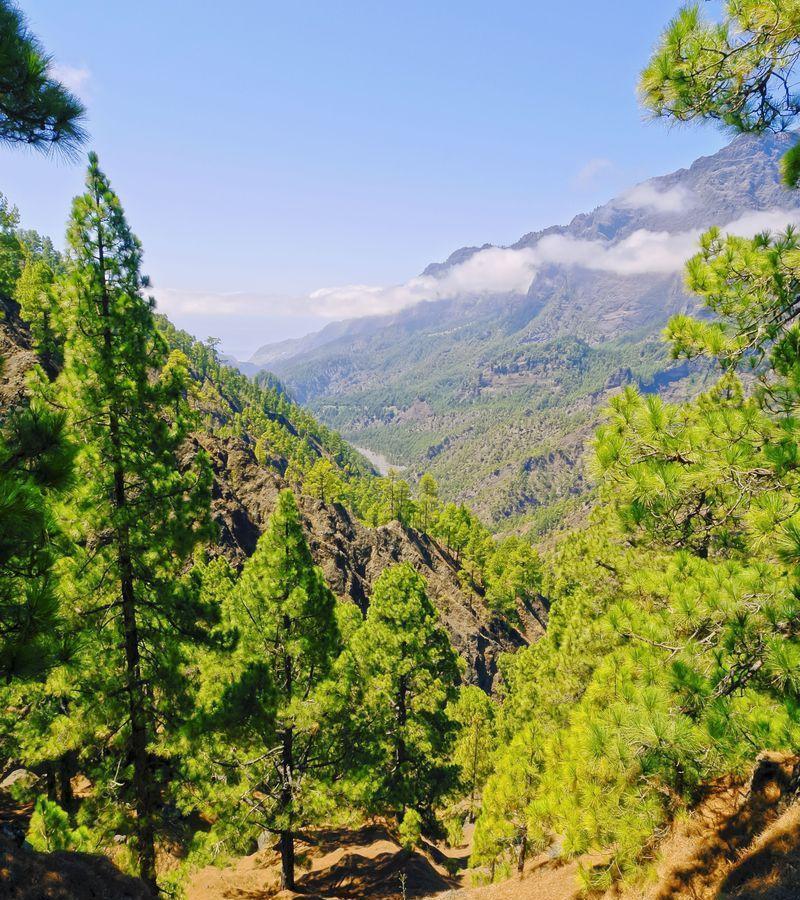 Reise in Spanien, Caldera de Taburiente