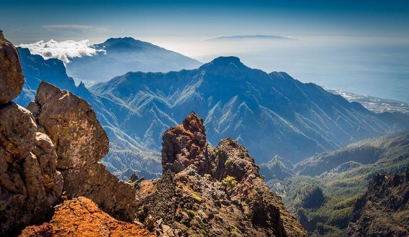 Reise in Spanien, Die Bergwelt des Roque des Los Muchachos