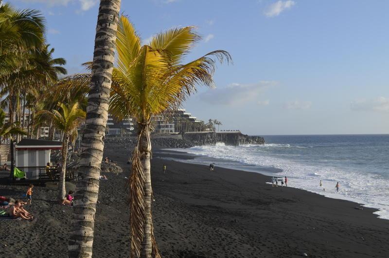 Reise in Spanien, Vulkanstrand auf La Palma