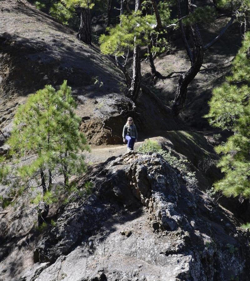 Reise in Spanien, Wanderung