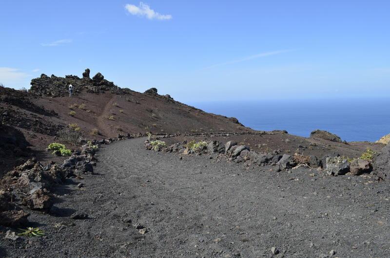 Reise in Spanien, Vulkanwanderung auf La Palma