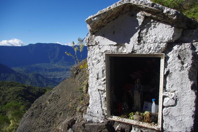 Reise in Réunion, Berghütte oberhalb Cilaos