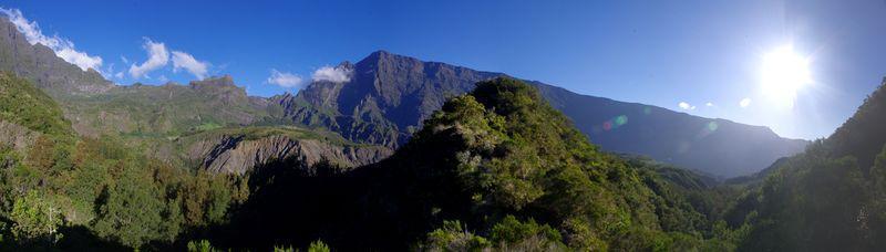 Reise in Réunion, Sonnenaufgang