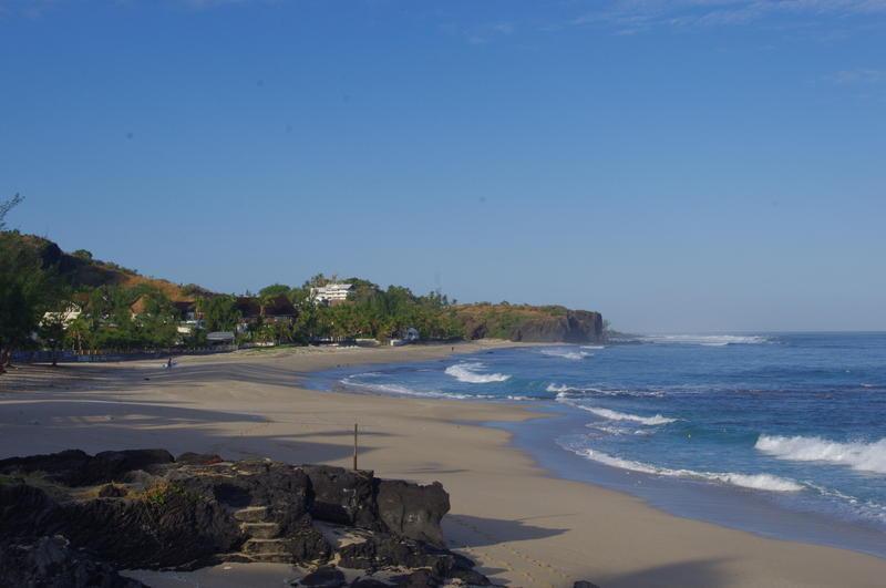 Reise in Réunion, Strand