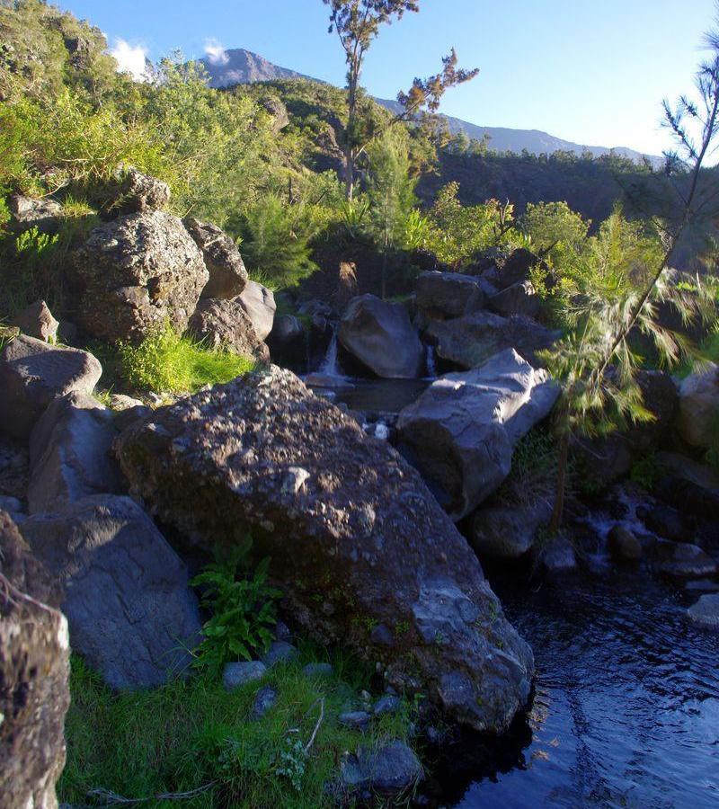 Reise in Réunion, Wanderung an Flüssen