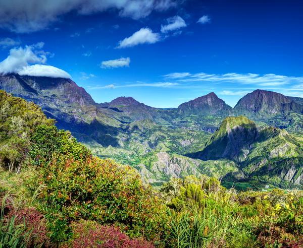 Reise in Réunion, La Réunion - Tropen und Vulkane