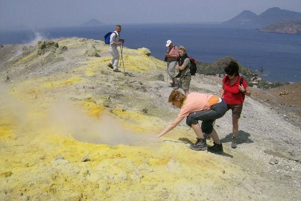 Reise in Italien, Liparische Inseln - Wandern auf den Vulkaninseln des Mittelmeers