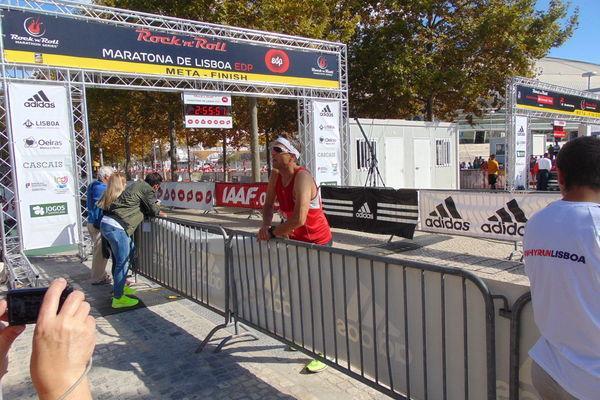 Reise in Portugal, Lissabon Marathon