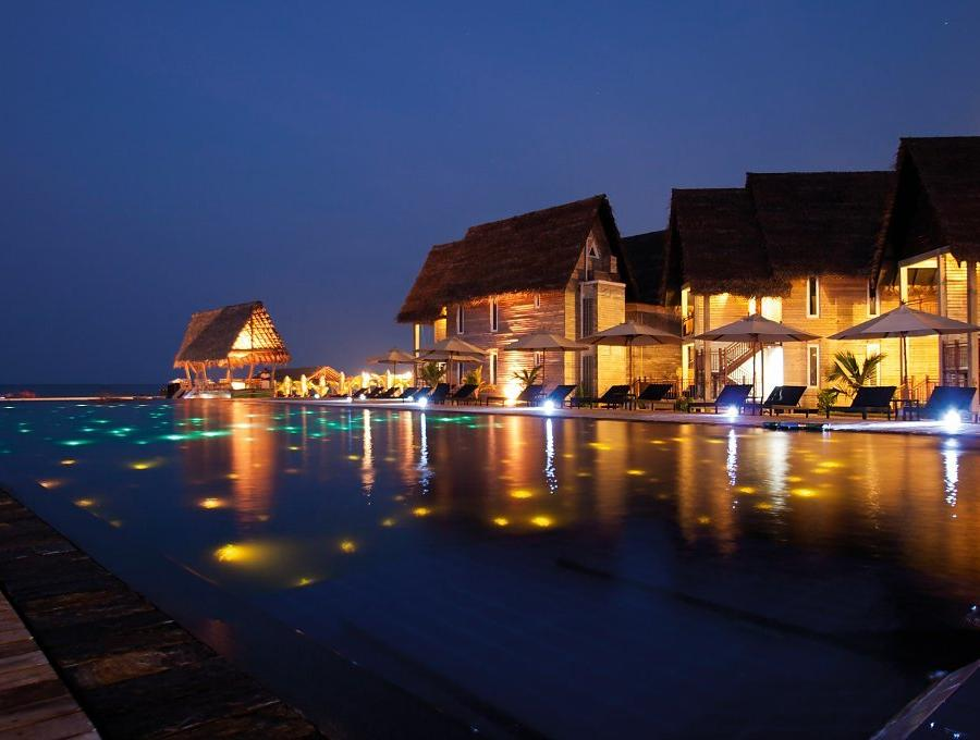 Reise in Sri Lanka, Maalu Maalu Resort & Spa