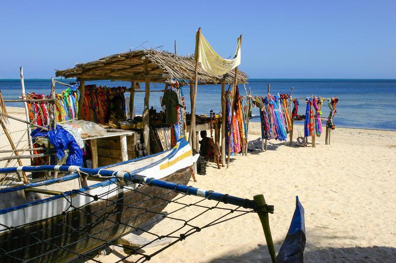 Reise in Madagaskar, Der Strand des Indischen Ozeans