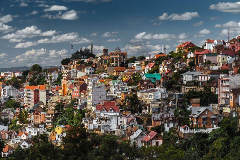 Reise in Madagaskar, Königshügel in Antananarivo, der Hauptstadt Madagaskars