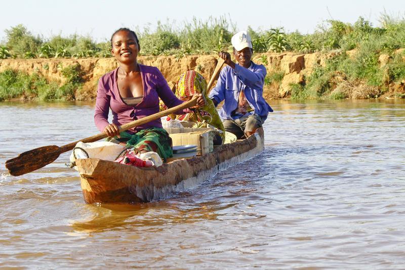 Reise in Madagaskar, Unterwegs mit dem Boot in Madagaskar