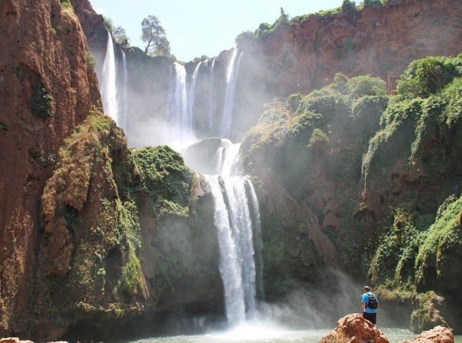 Reise in Marokko, Im Angesicht der Kräfte der Natur