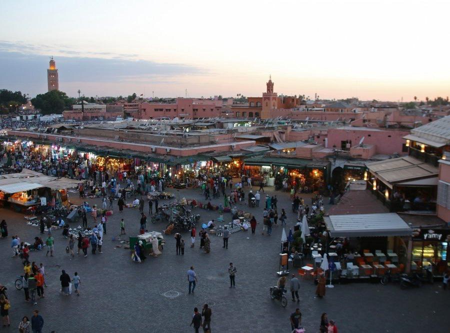 Reise in Marokko, Djamaa el Fna