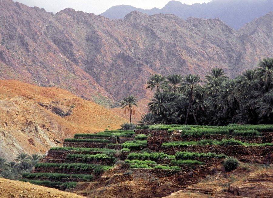 Reise in Marokko, Oase in den Bergen