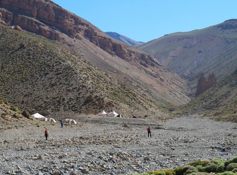 Reise in Marokko, Inmitten der Bergwelt